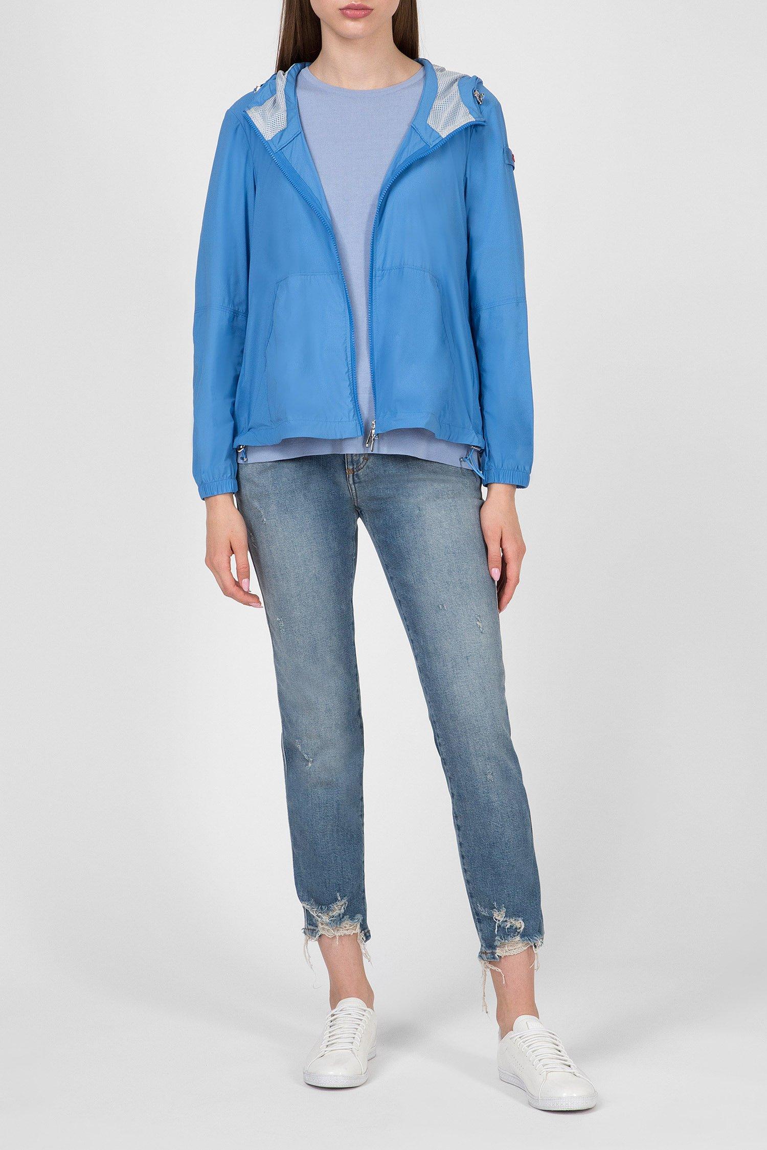 Купить Женская голубая ветровка Peuterey Peuterey PED3187-294 – Киев, Украина. Цены в интернет магазине MD Fashion