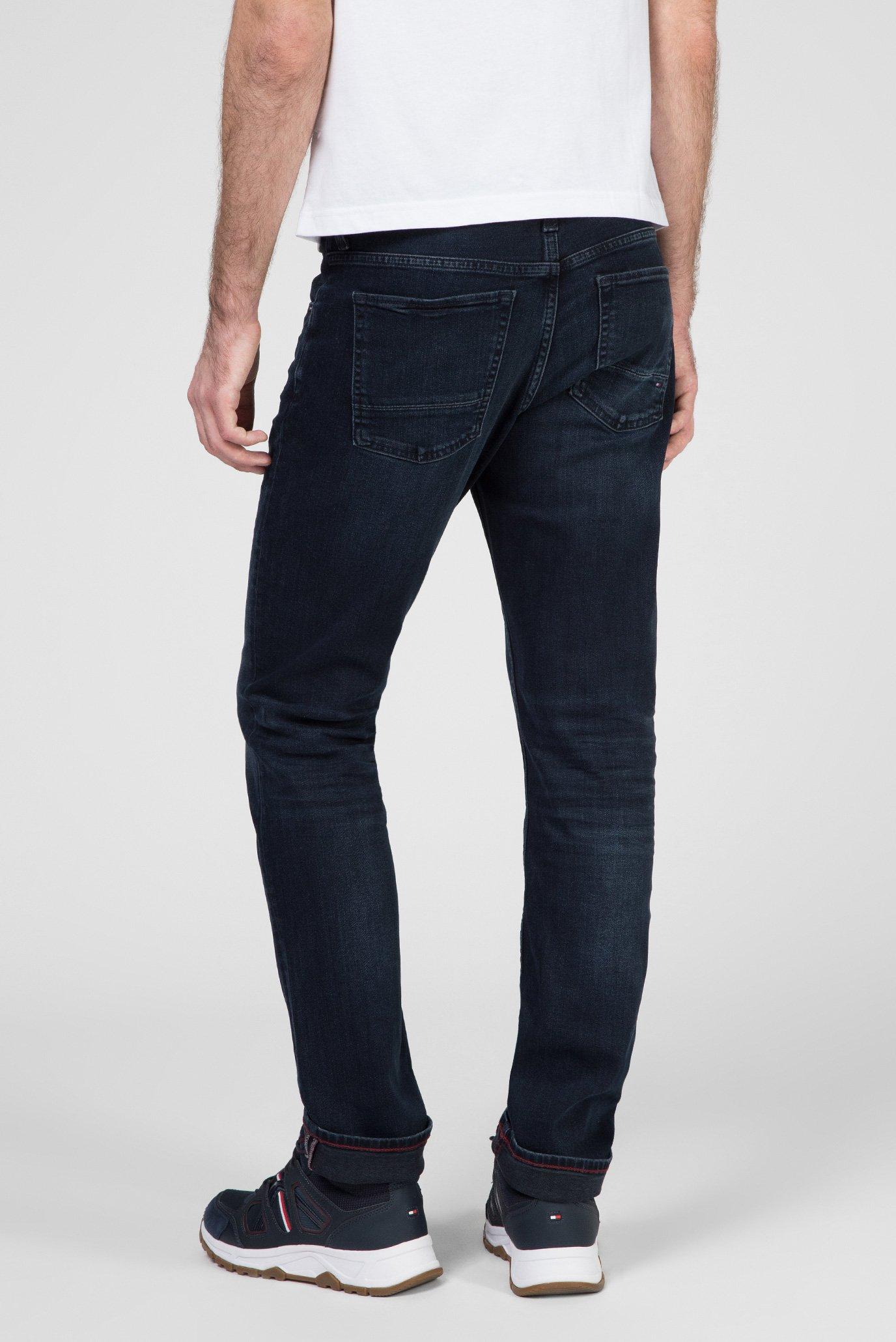 Мужские темно-синие джинсы REGULAR MERCER STR BASIN BLUE Tommy Hilfiger