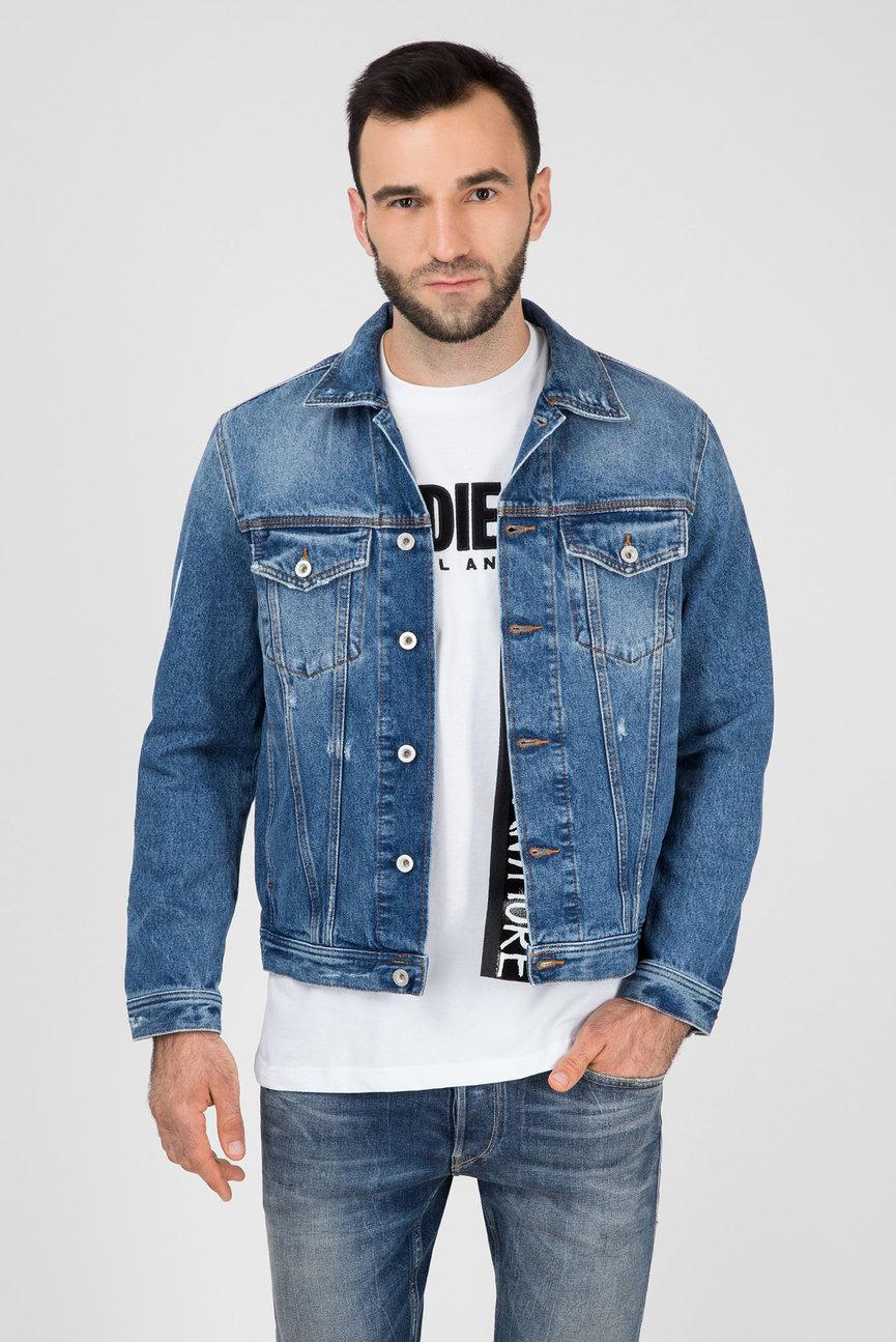 Мужская голубая джинсовая куртка DIVISION