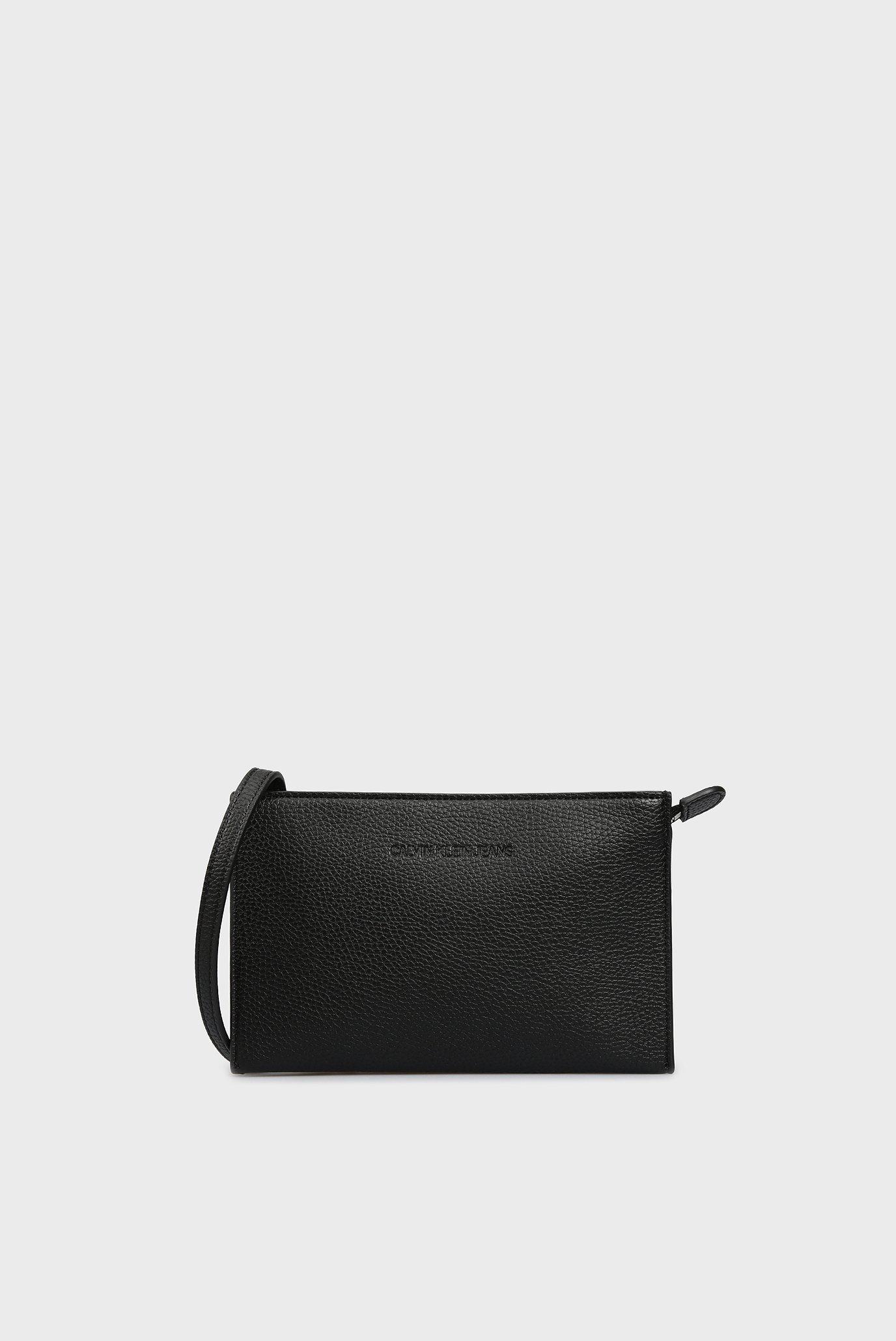 Женская черная сумка через плечо Calvin Klein