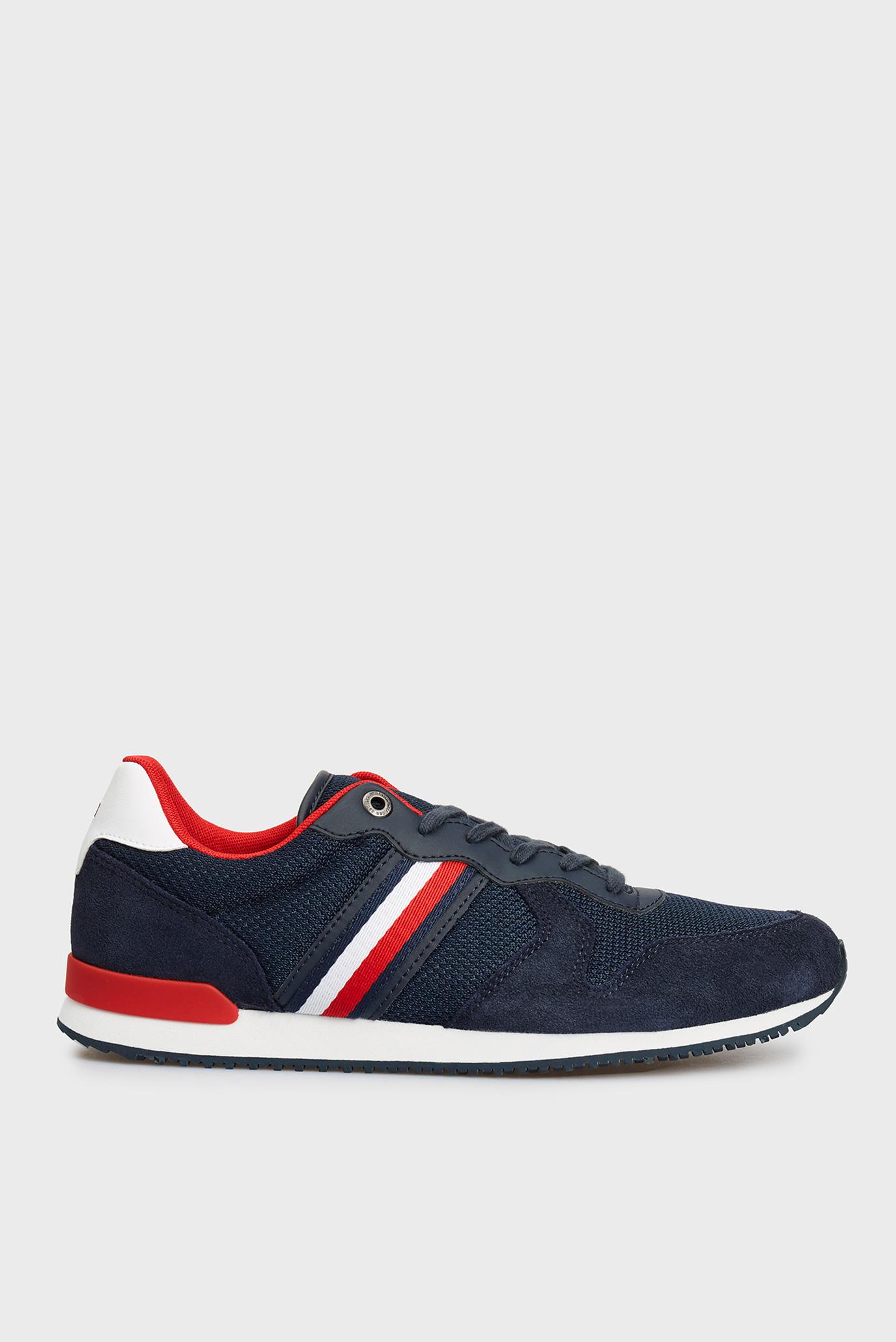 Мужские темно-синие кроссовки ICONIC MATERIAL MIX 1