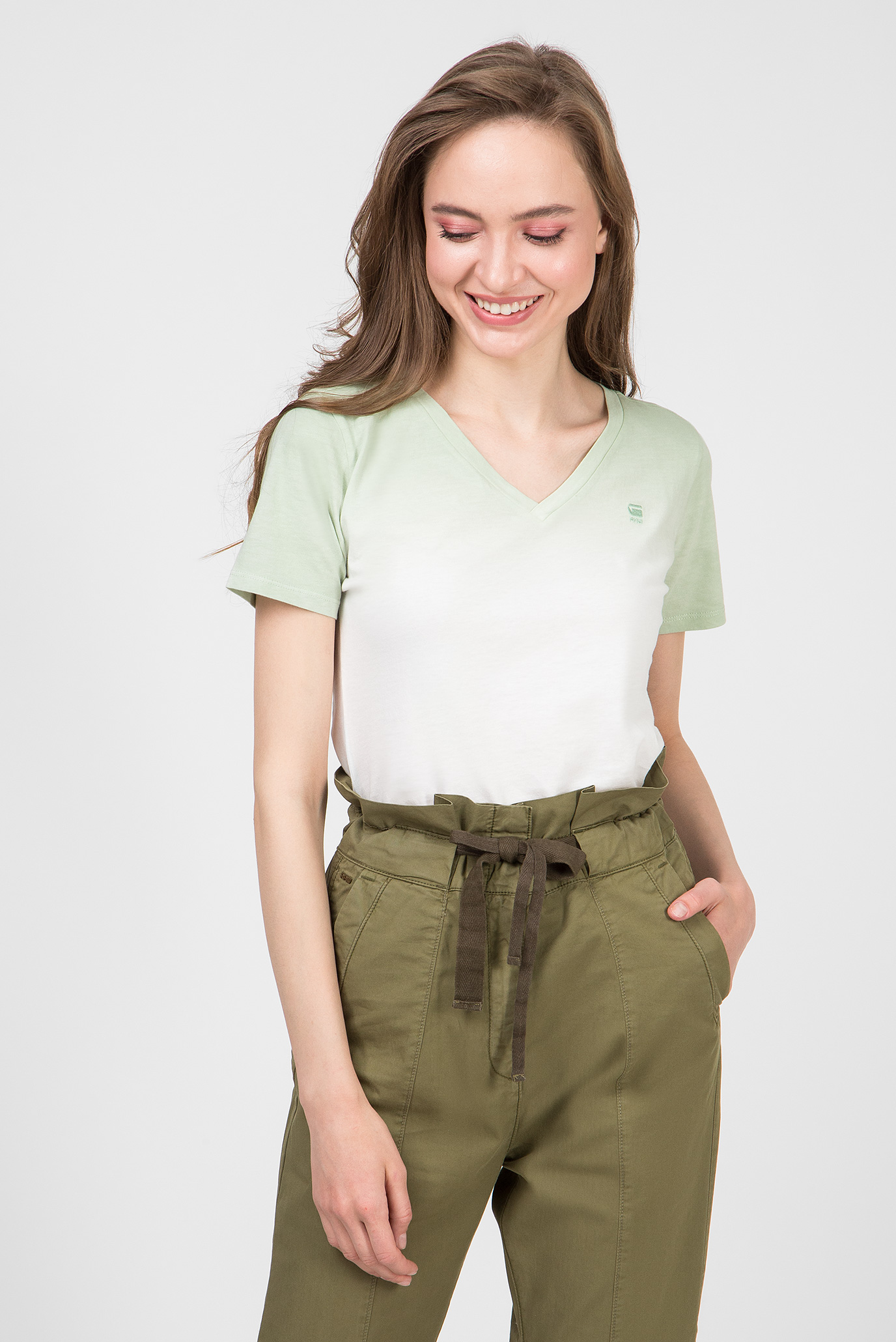 Жіноча зелена футболка Mysid 1
