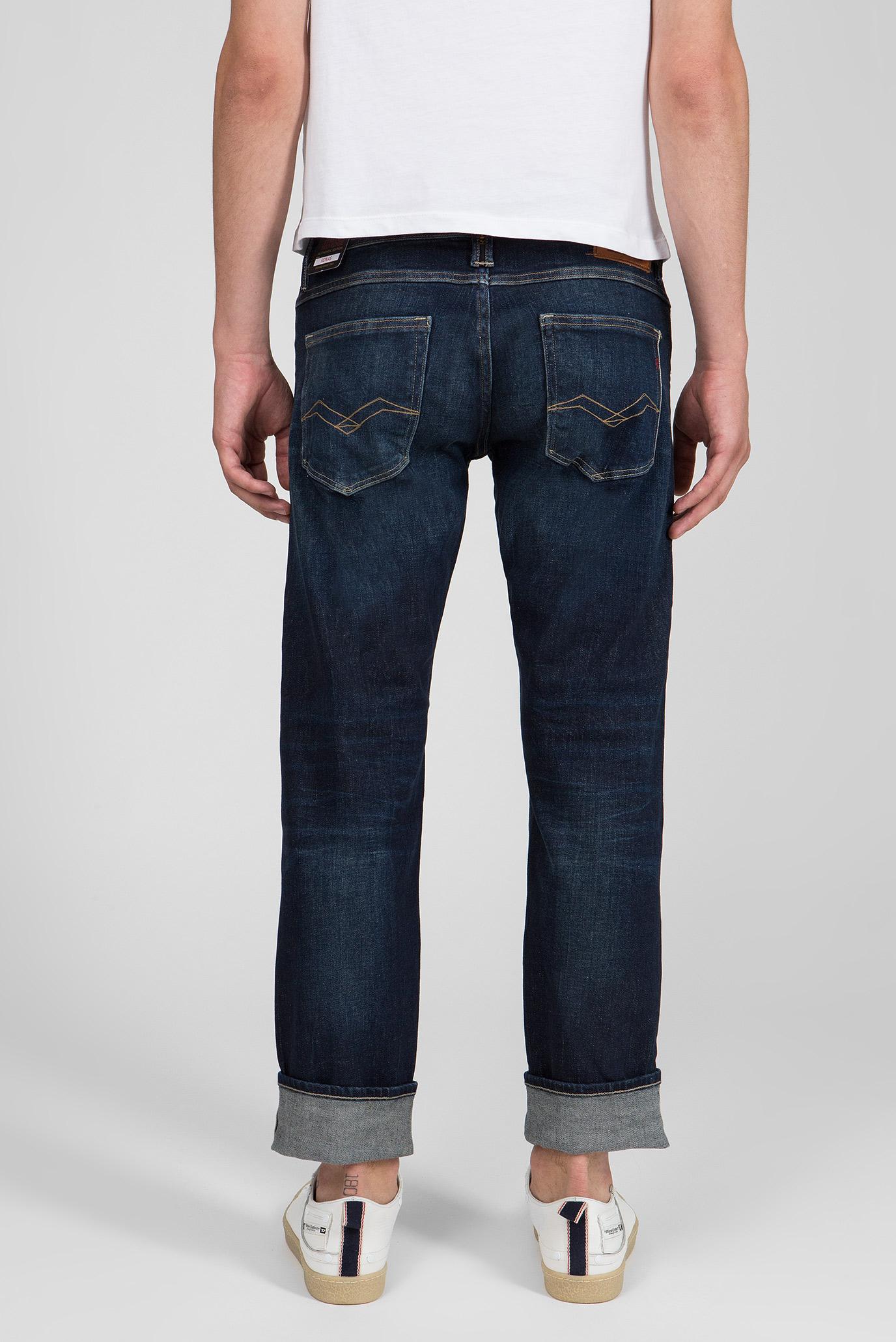 Купить Мужские темно-синие джинсы RONAS Replay Replay MCA946.000.121 304 – Киев, Украина. Цены в интернет магазине MD Fashion