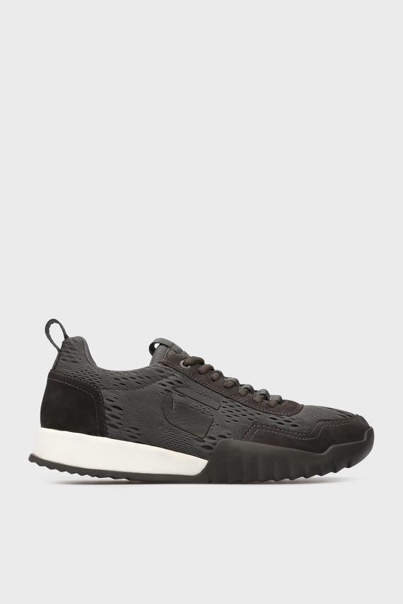 Мужские темно-коричневые кроссовки