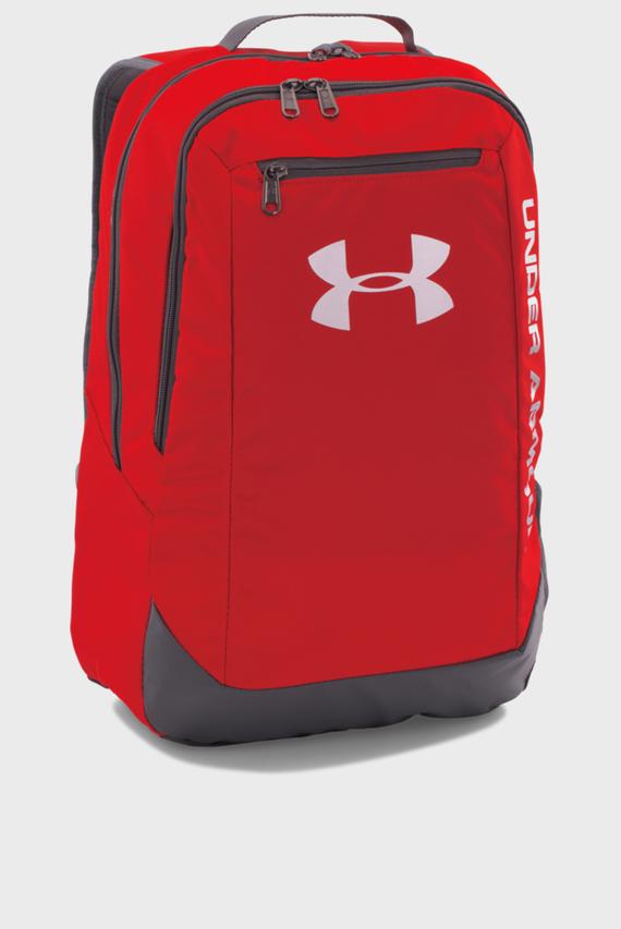 Мужской красный рюкзак UA Hustle Backpack LDWR