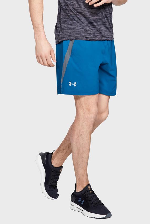 Мужские синие шорты UA LAUNCH SW 7'' SHORT-GRN