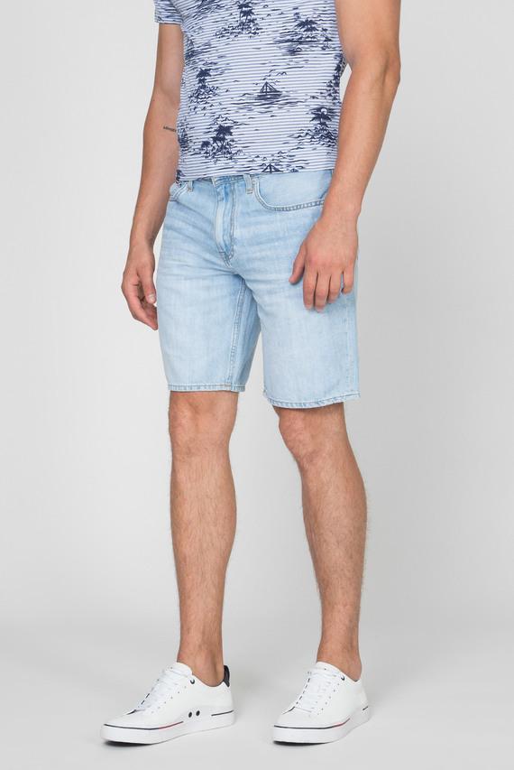 Мужские голубые джинсовые шорты BROOKLYN