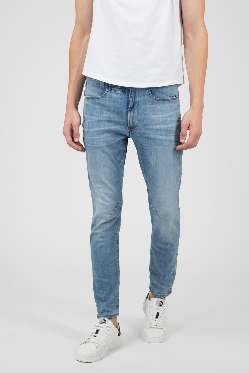 Мужские голубые джинсы D-STAQ