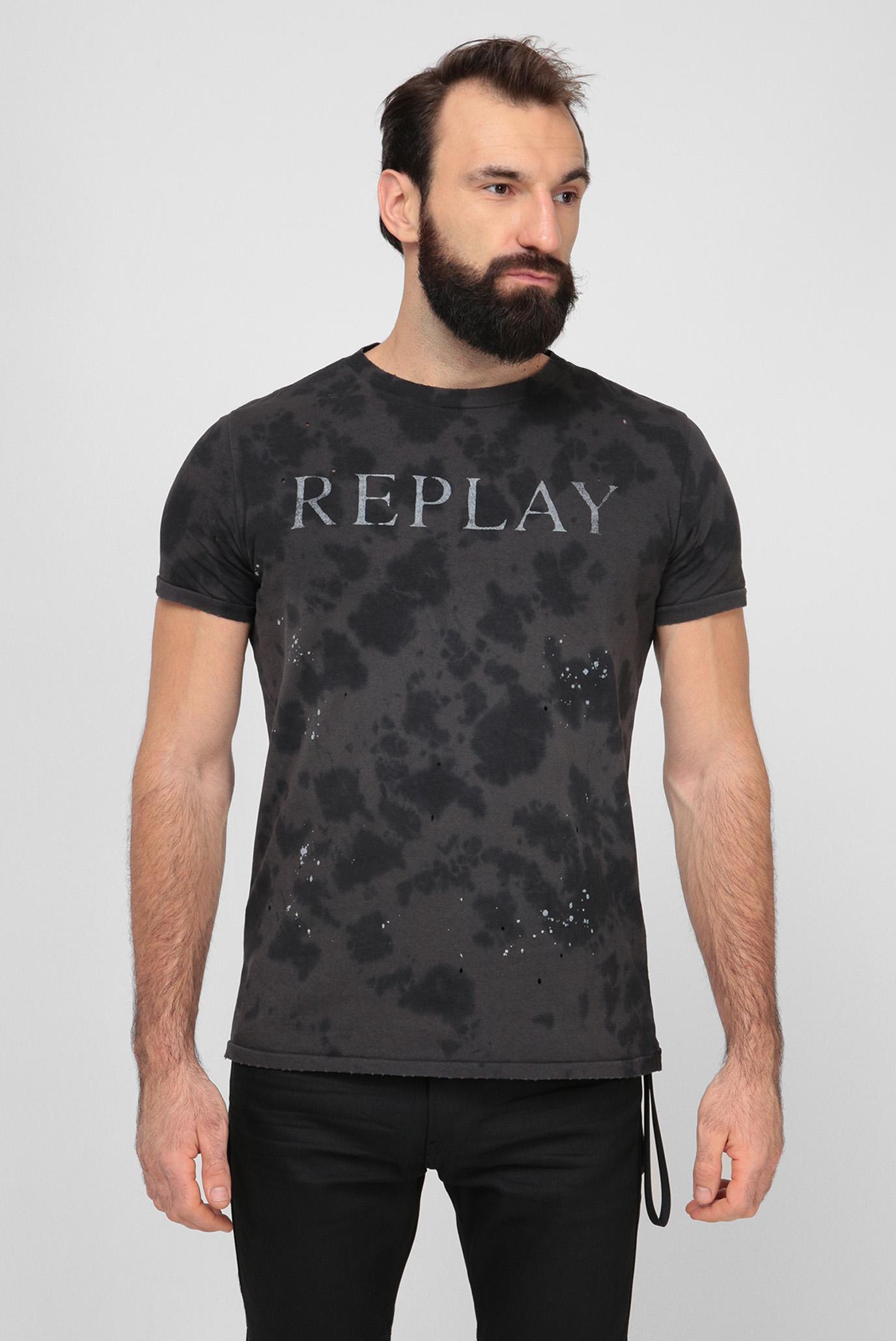 Чоловіча темно-сіра футболка 1