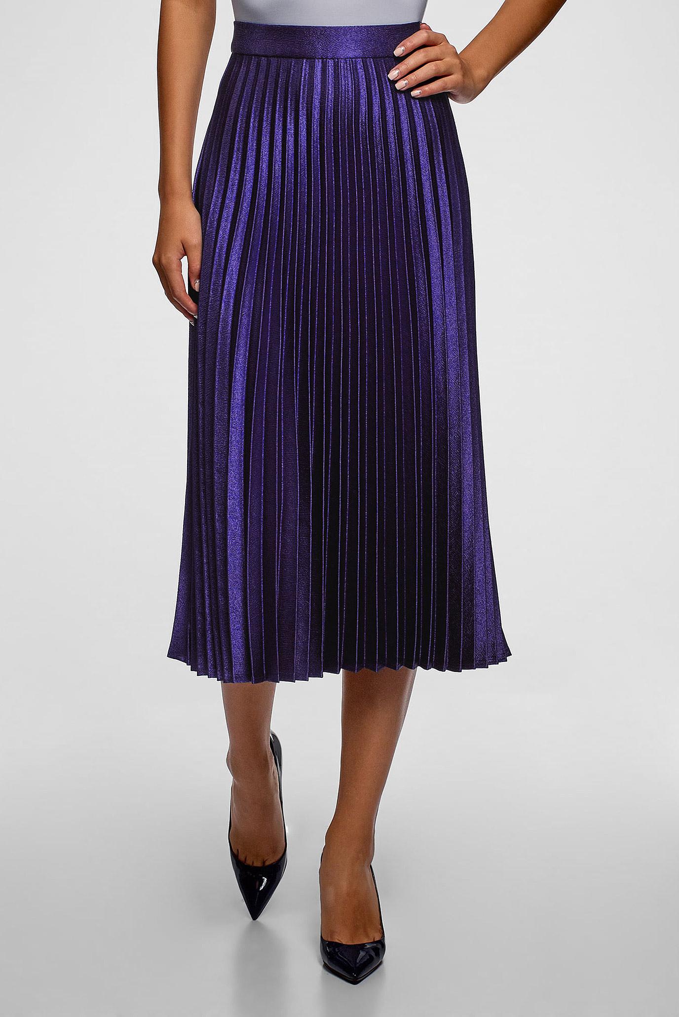 f5210c226ef Купить Женская фиолетовая юбка-плиссе Oodji Oodji 21606020-4 48764 7800N –  Киев