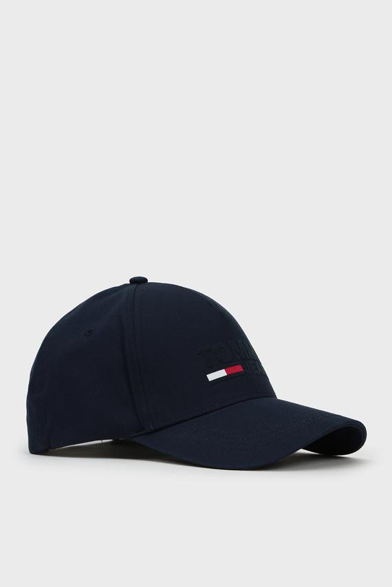 Мужская темно-синяя кепка TJM LOGO