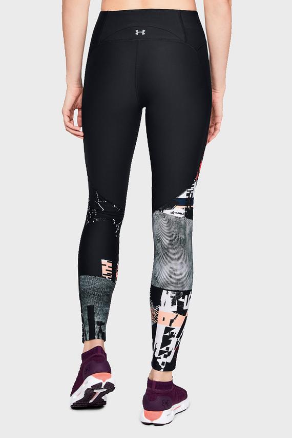 Женские черные тайтсы UA Vanish Printed Legging