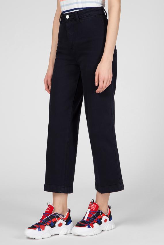 Женские темно-синие джинсы BELL BOTTOM