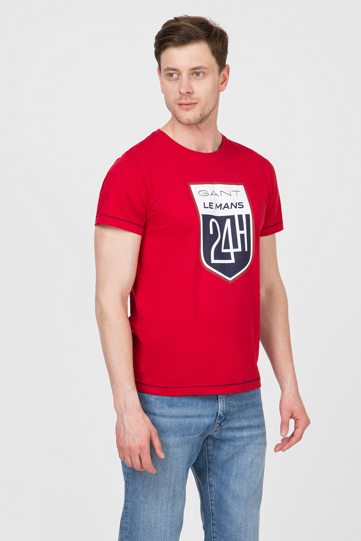 Купить Мужская красная футболка LM Gant Gant 2003047 – Киев, Украина. Цены в интернет магазине MD Fashion