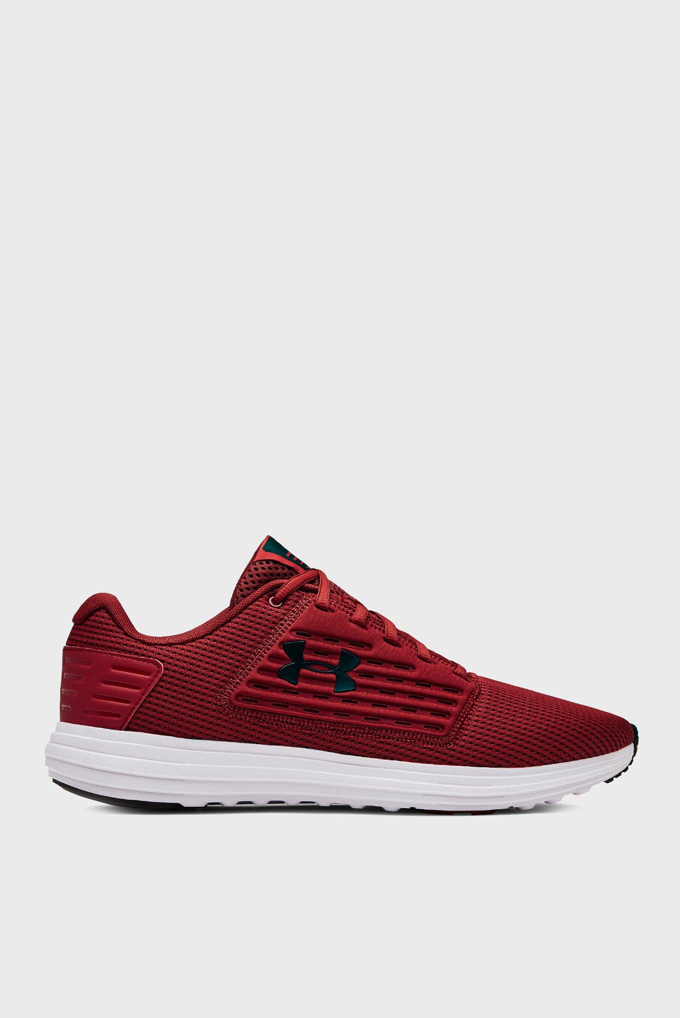 Чоловічі бордові кросівки UA Surge SE 1