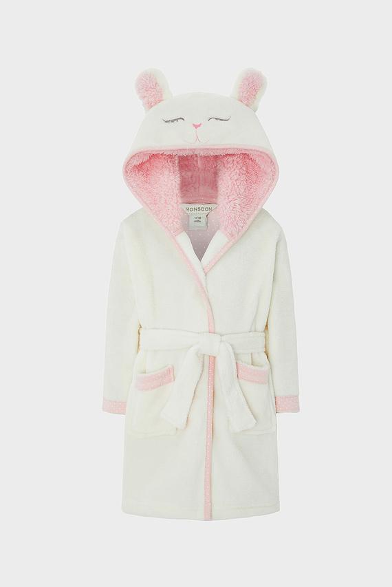 Детский розовый халат BABY BUNNY ROBE