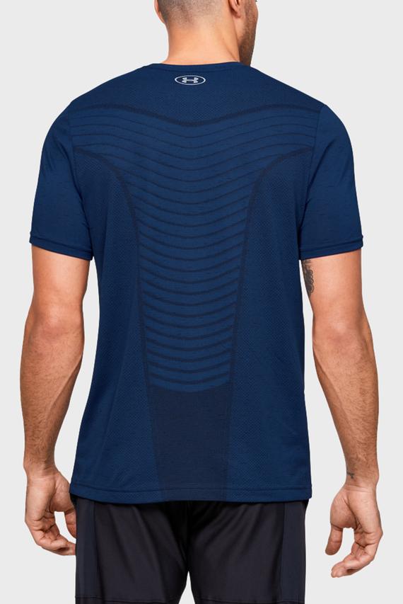Мужская синяя футболка Seamless Wave SS