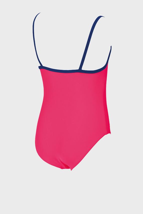 Детский розовый купальник WONDER WOMAN ROUCHE KIDS GIRL
