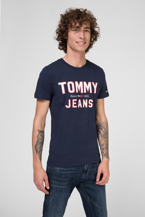 Мужская темно-синяя футболка TJM ESSENTIAL 1985 LOGO