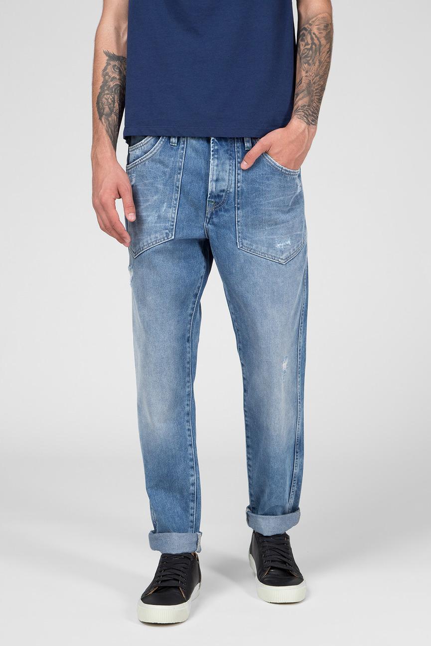 Мужские голубые джинсы JARROD SPANNER