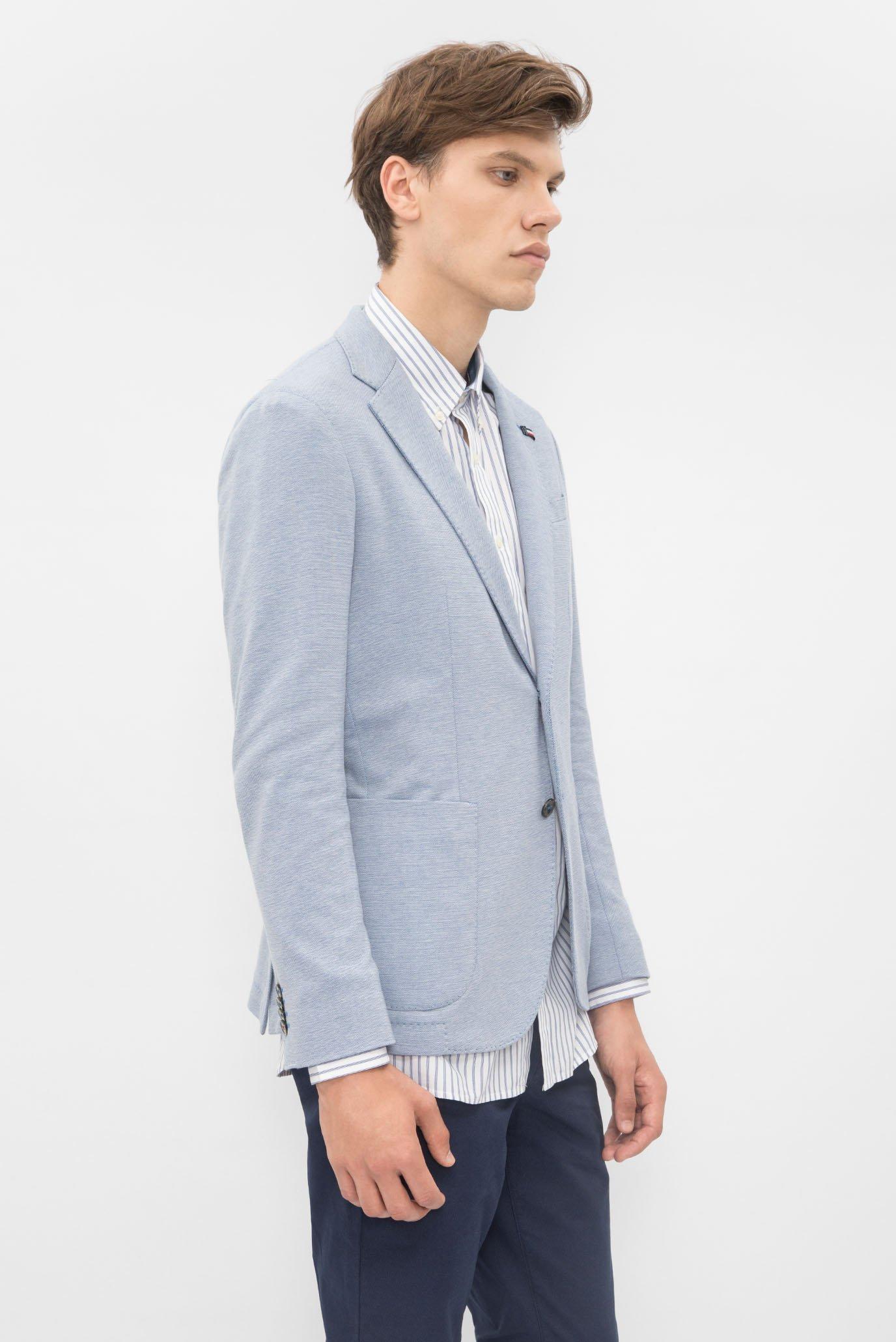 Купить Мужской голубой пиджак Tommy Hilfiger Tommy Hilfiger MW0MW00532 – Киев, Украина. Цены в интернет магазине MD Fashion