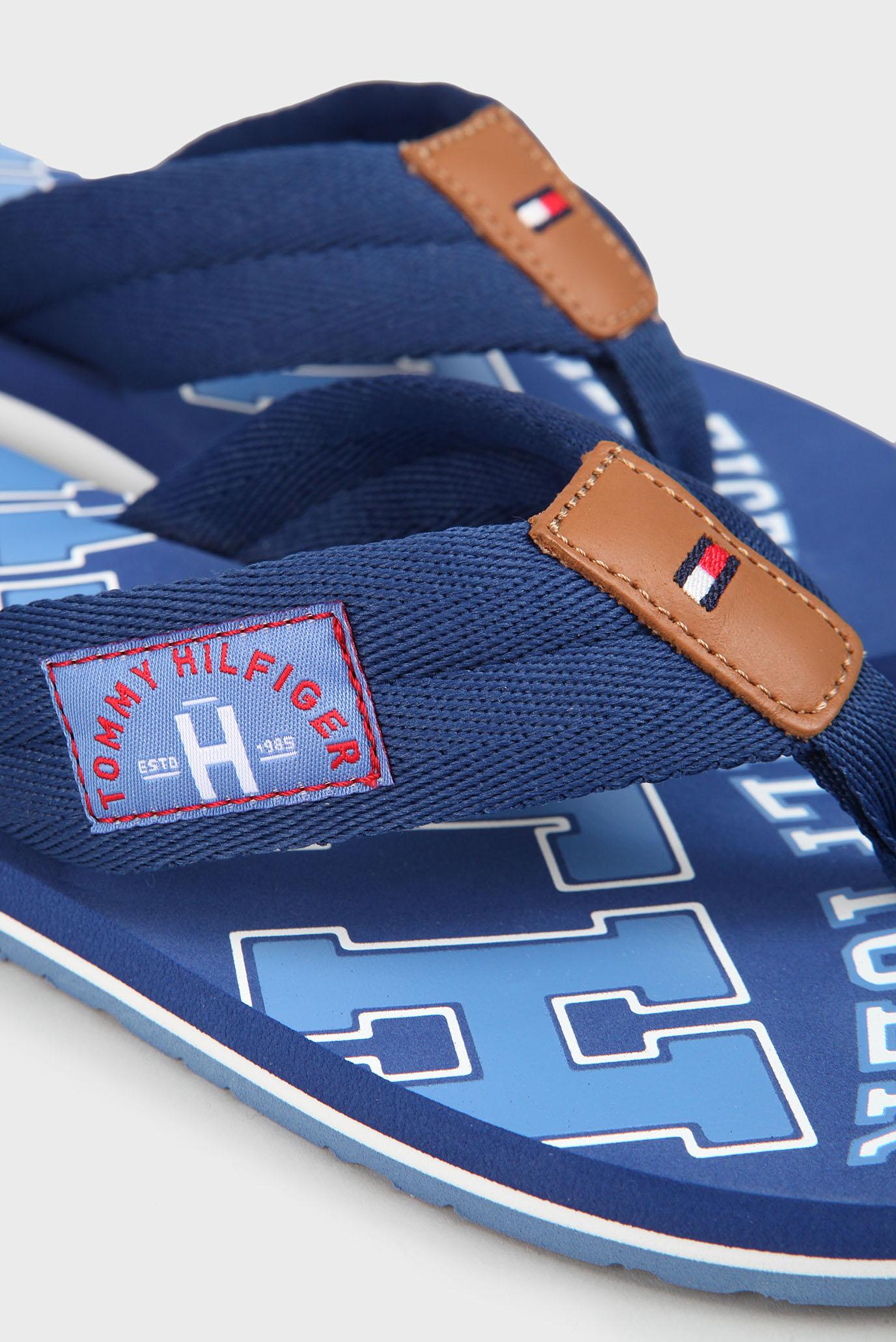 Купить Мужские голубые вьетнамки Tommy Hilfiger Tommy Hilfiger FM0FM01369 – Киев, Украина. Цены в интернет магазине MD Fashion
