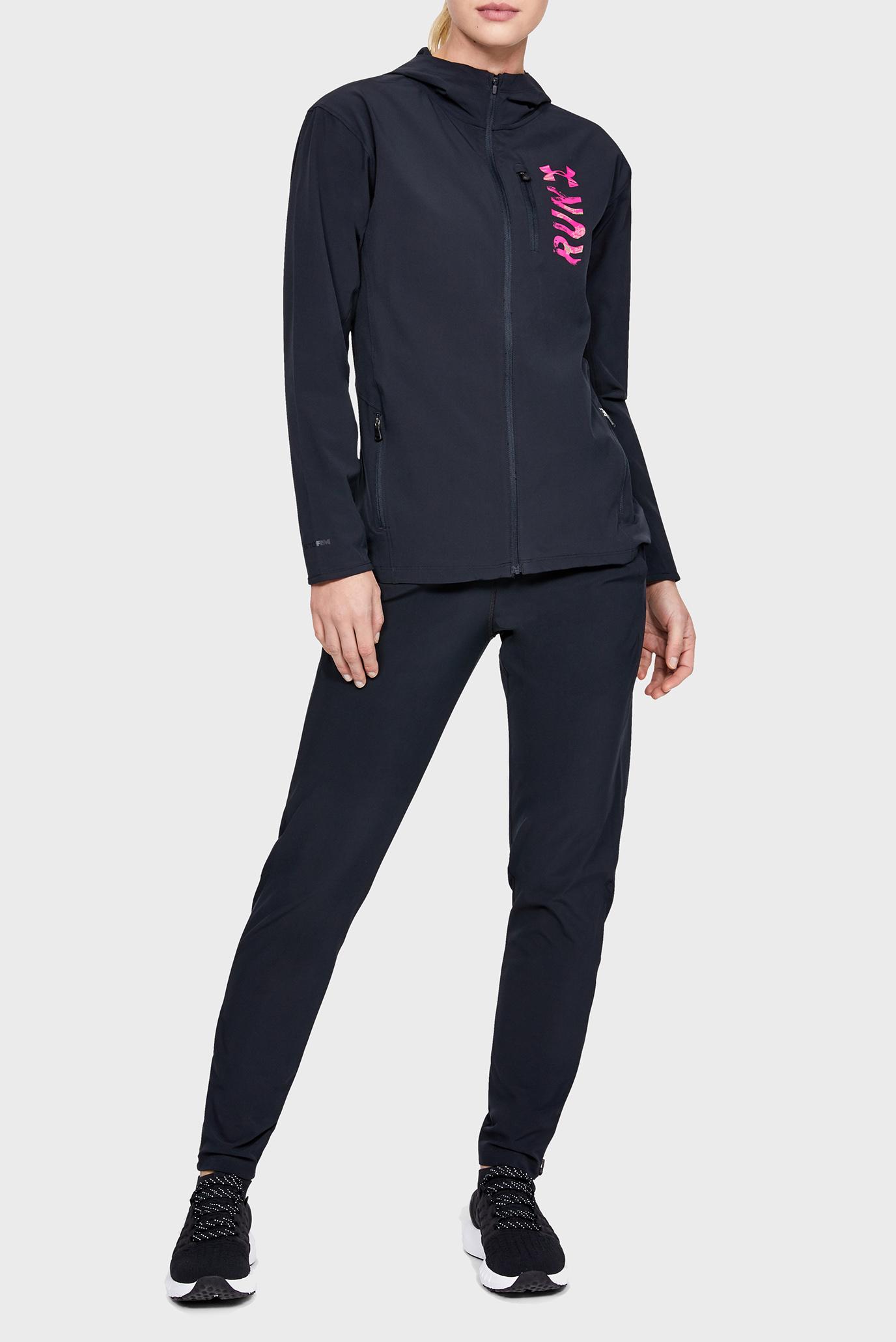 Женские черные спортивные брюки UA W Storm Launch Pant Under Armour