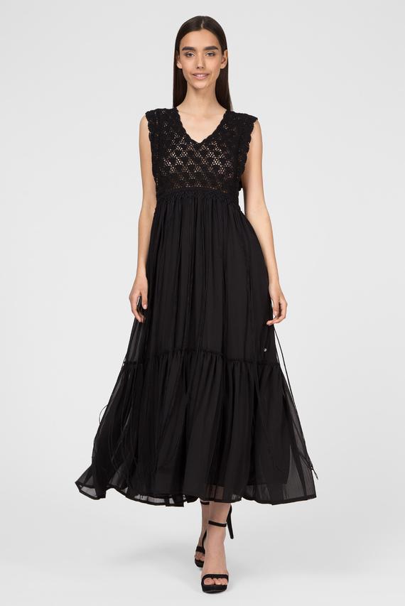 Женское черное платье AZU