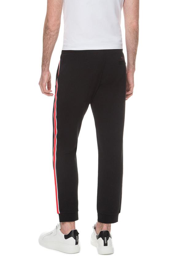 Мужские черные спортивные брюки