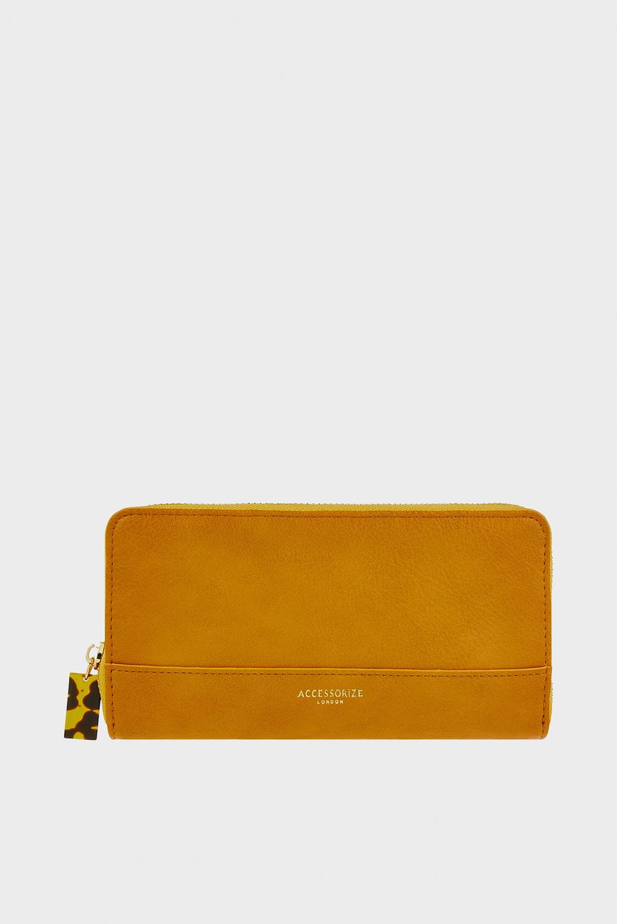 Женский оранжевый кошелек LARGE ZIP AROUND WAL
