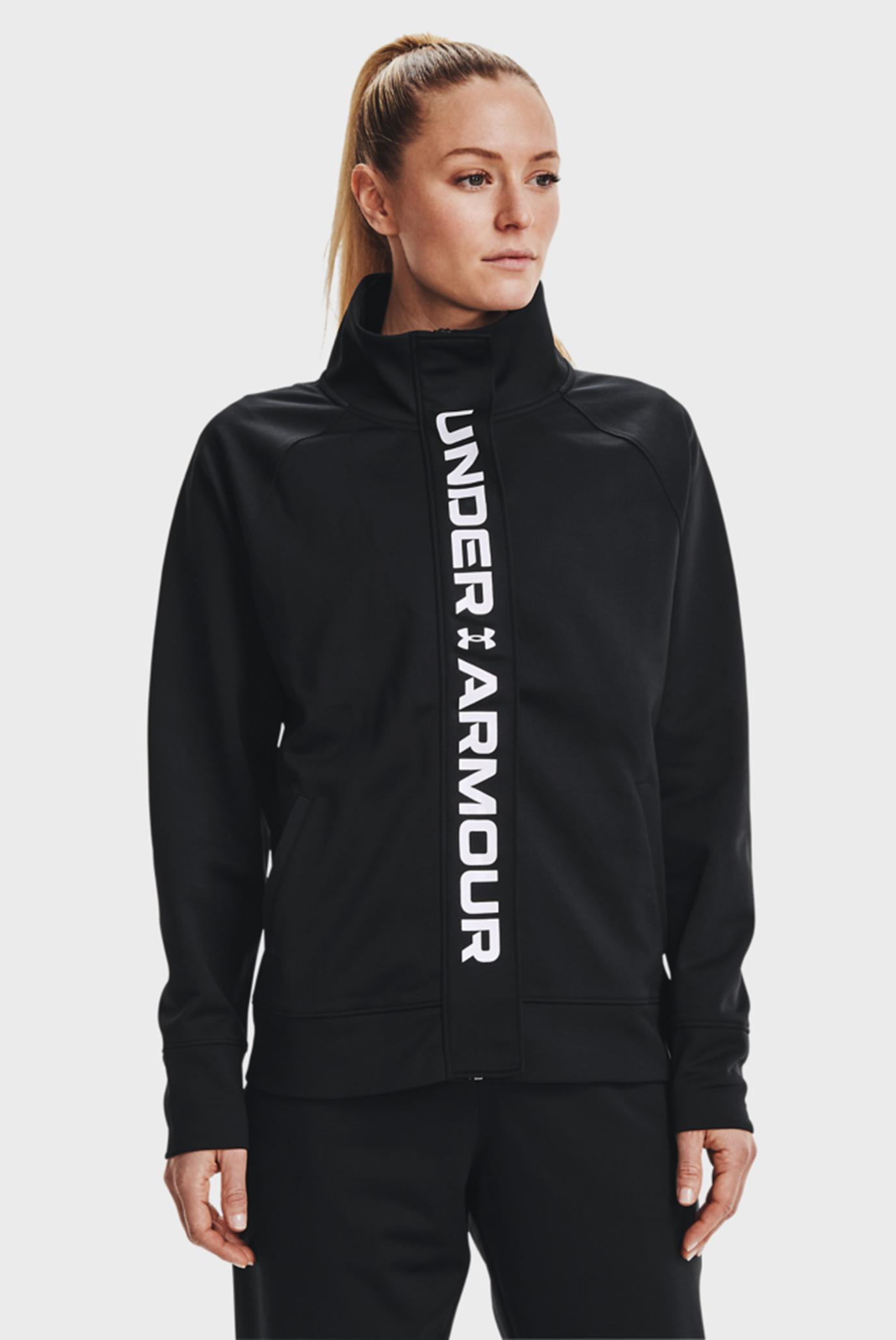 Женский черный свитшот Recover Tricot Jacket 1