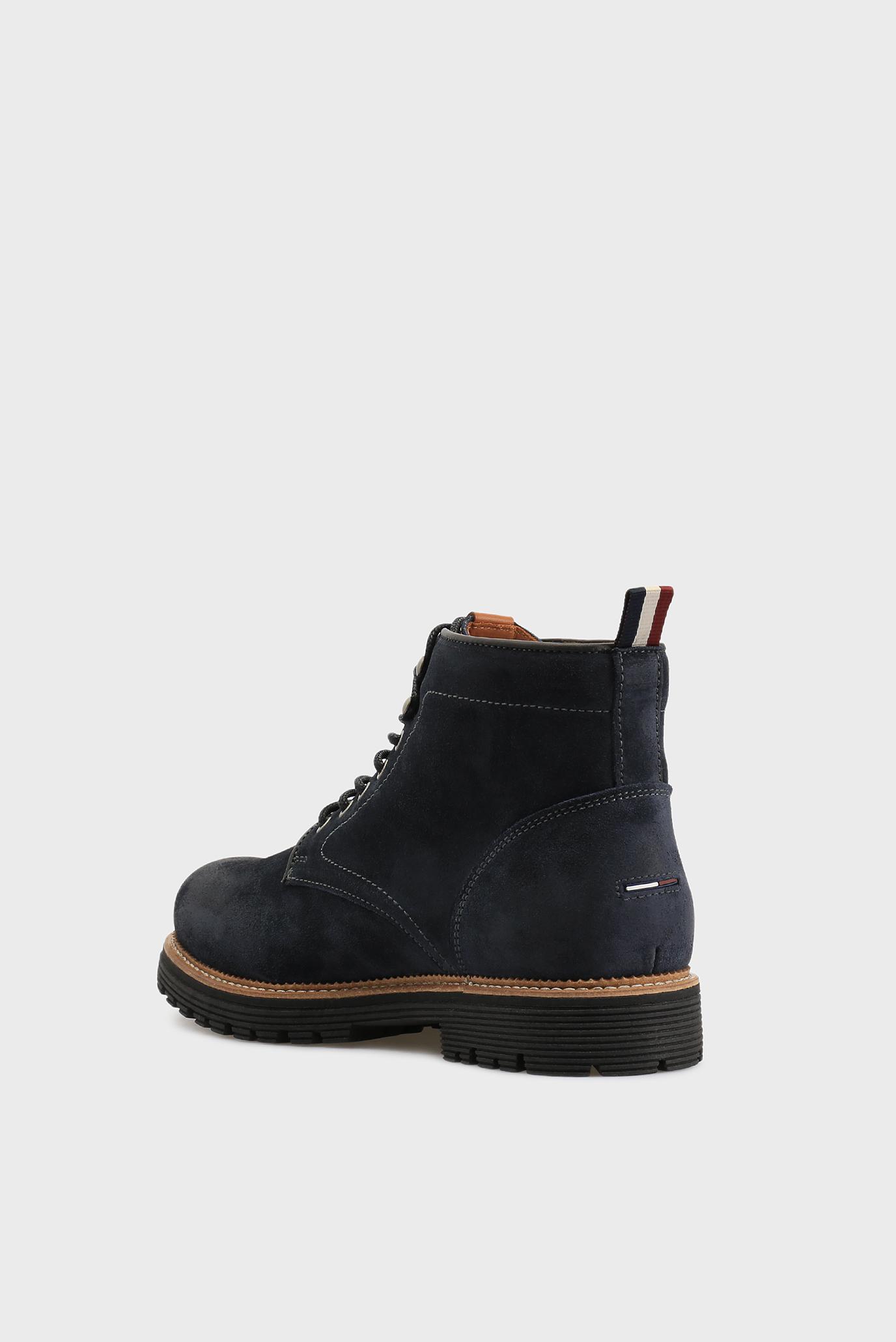 Купить Мужские синие замшевые ботинки Tommy Hilfiger Tommy Hilfiger  FM0FM00891 – Киев 01a390afa2bc5