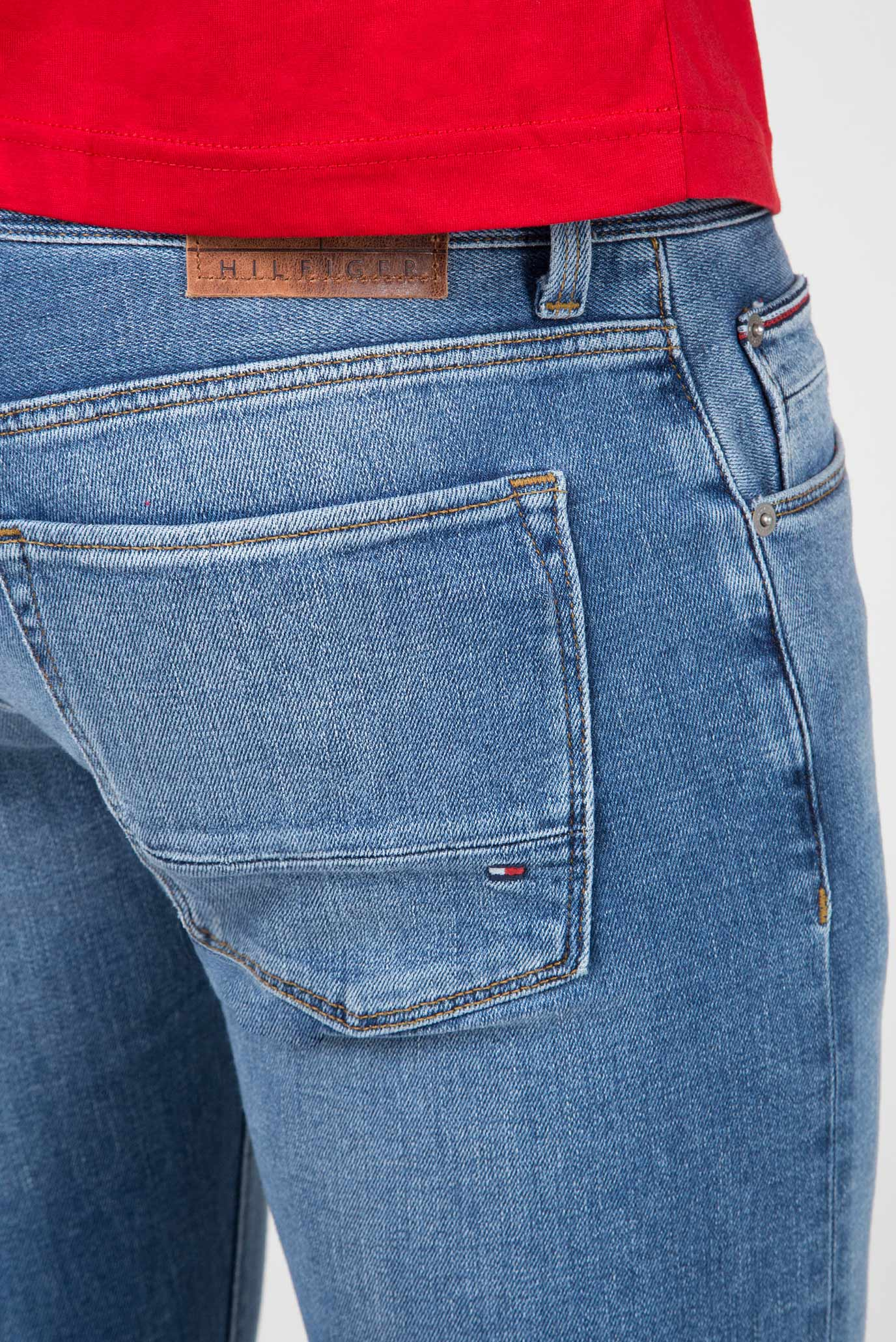 Купить Мужские синие джинсы STRAIGHT DENTON STR KUNA Tommy Hilfiger Tommy Hilfiger MW0MW08761 – Киев, Украина. Цены в интернет магазине MD Fashion