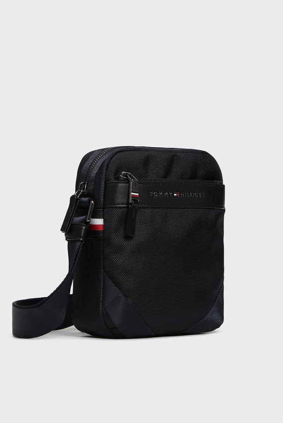 Мужская темно-синяя сумка через плечо ELEVATED NYLON MINI