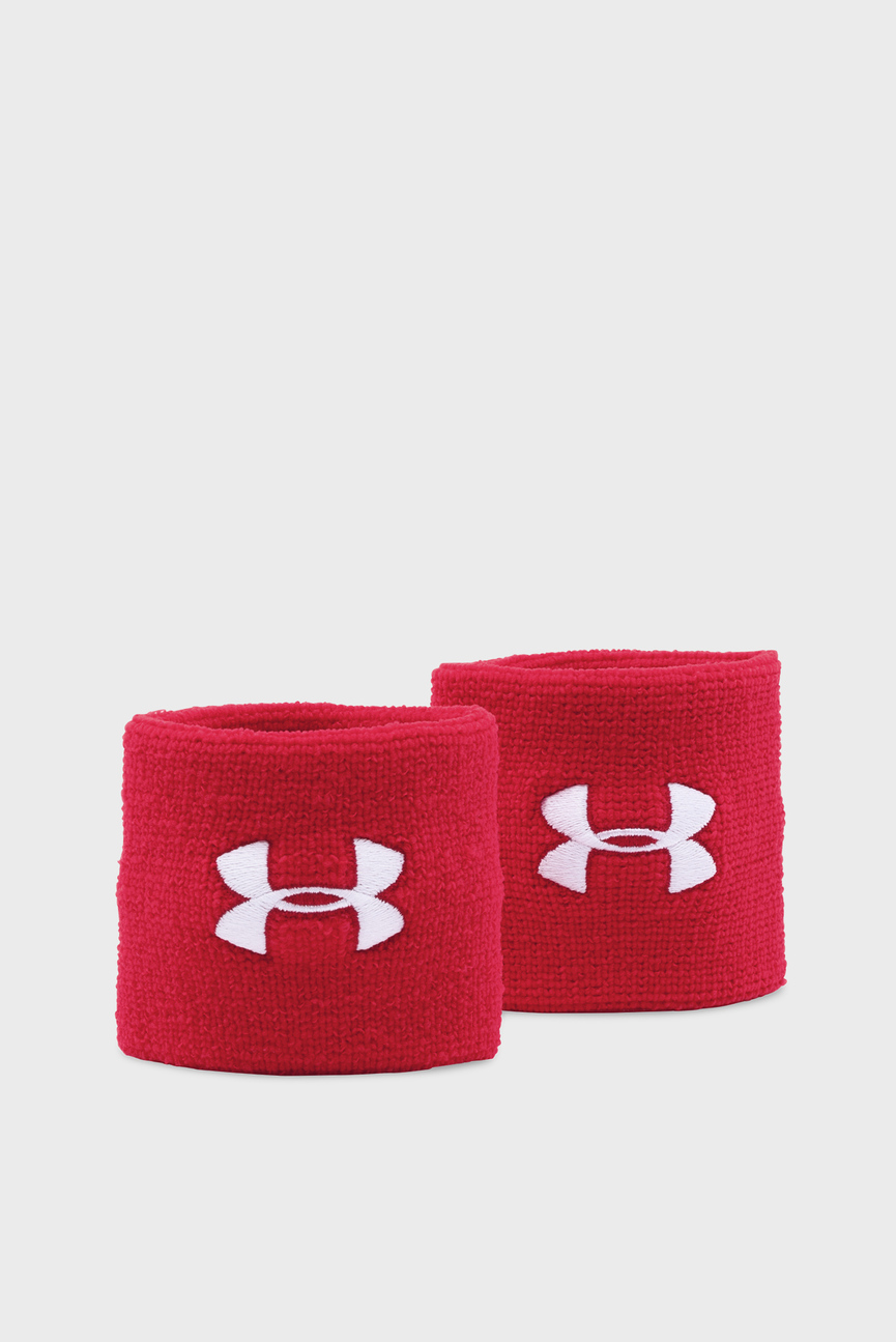 Красный напульсник Performance Wristbands (2 шт)