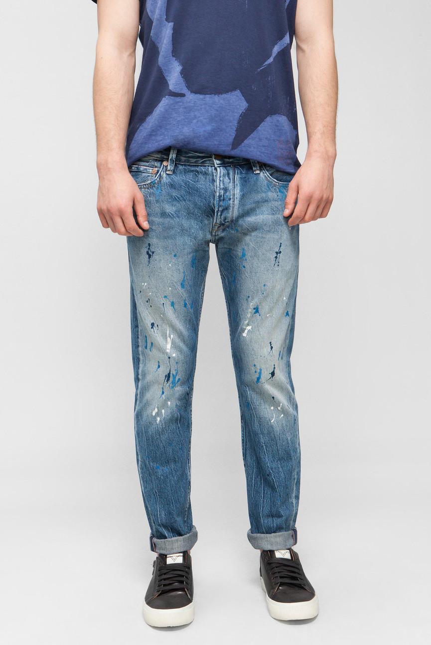 Мужские синие джинсы STANLEY ART