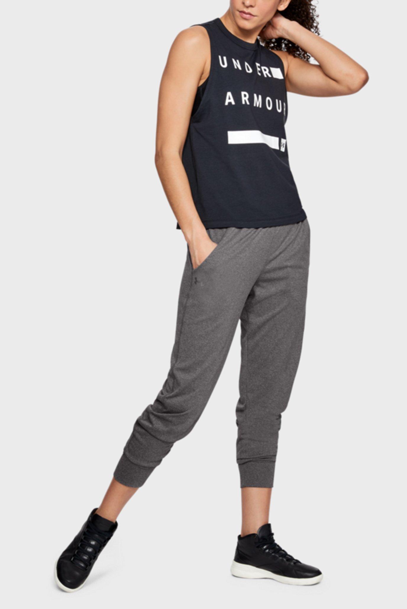 Купить Женские серые спортивные брюки Play Up Pant - Solid Under Armour Under Armour 1311332-090 – Киев, Украина. Цены в интернет магазине MD Fashion