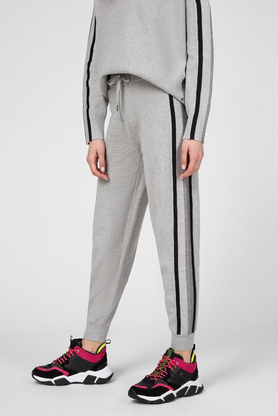 Женские серые спортивные брюки CACIE