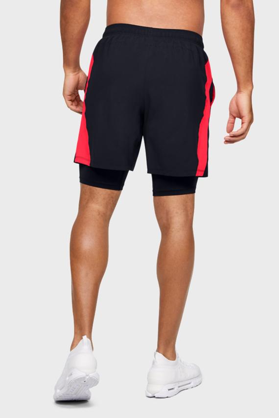 Мужские черные спортивные шорты M UA Launch SW 2-in-1 Get Out & Run Shor