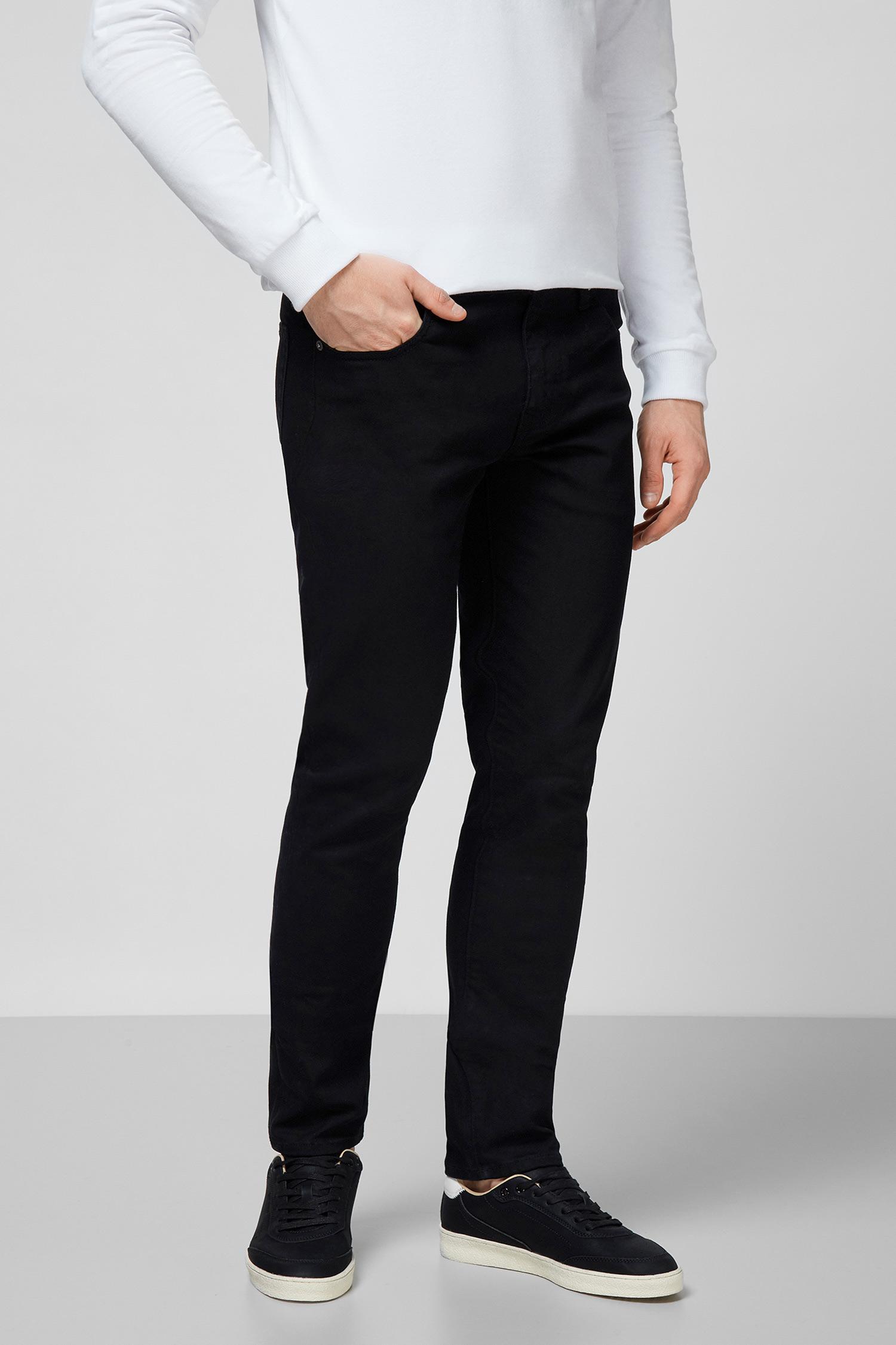 Мужские черные джинсы SuperDry M7010103A;12A — MD-Fashion
