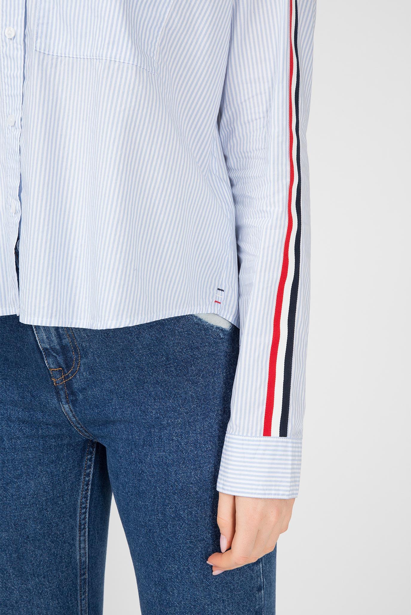 Купить Женская рубашка в полоску Tommy Hilfiger Tommy Hilfiger DW0DW05297 – Киев, Украина. Цены в интернет магазине MD Fashion