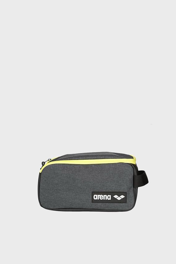 Серая спортивная сумка для обуви TEAM POCKET BAG