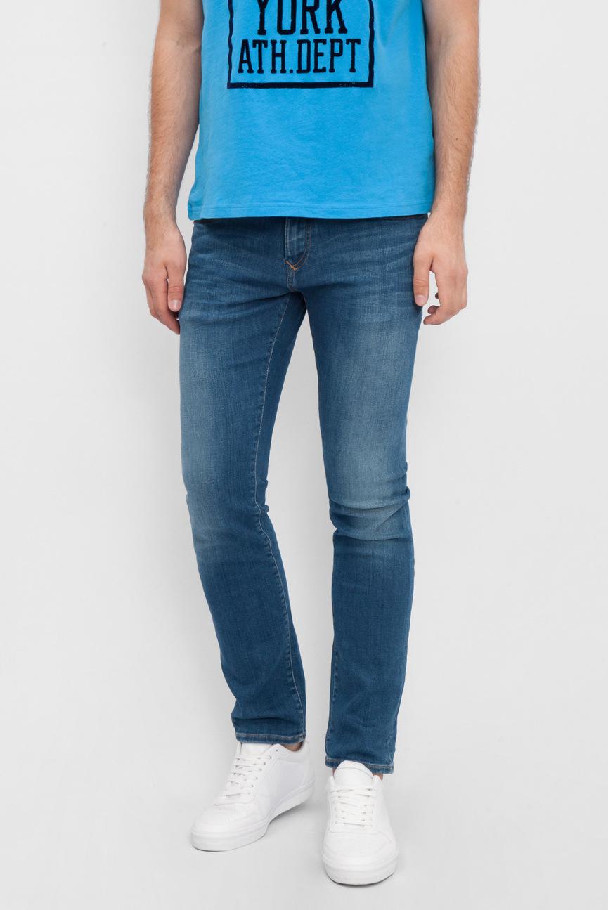 Мужские синие джинсы Slim Scanton MIDC