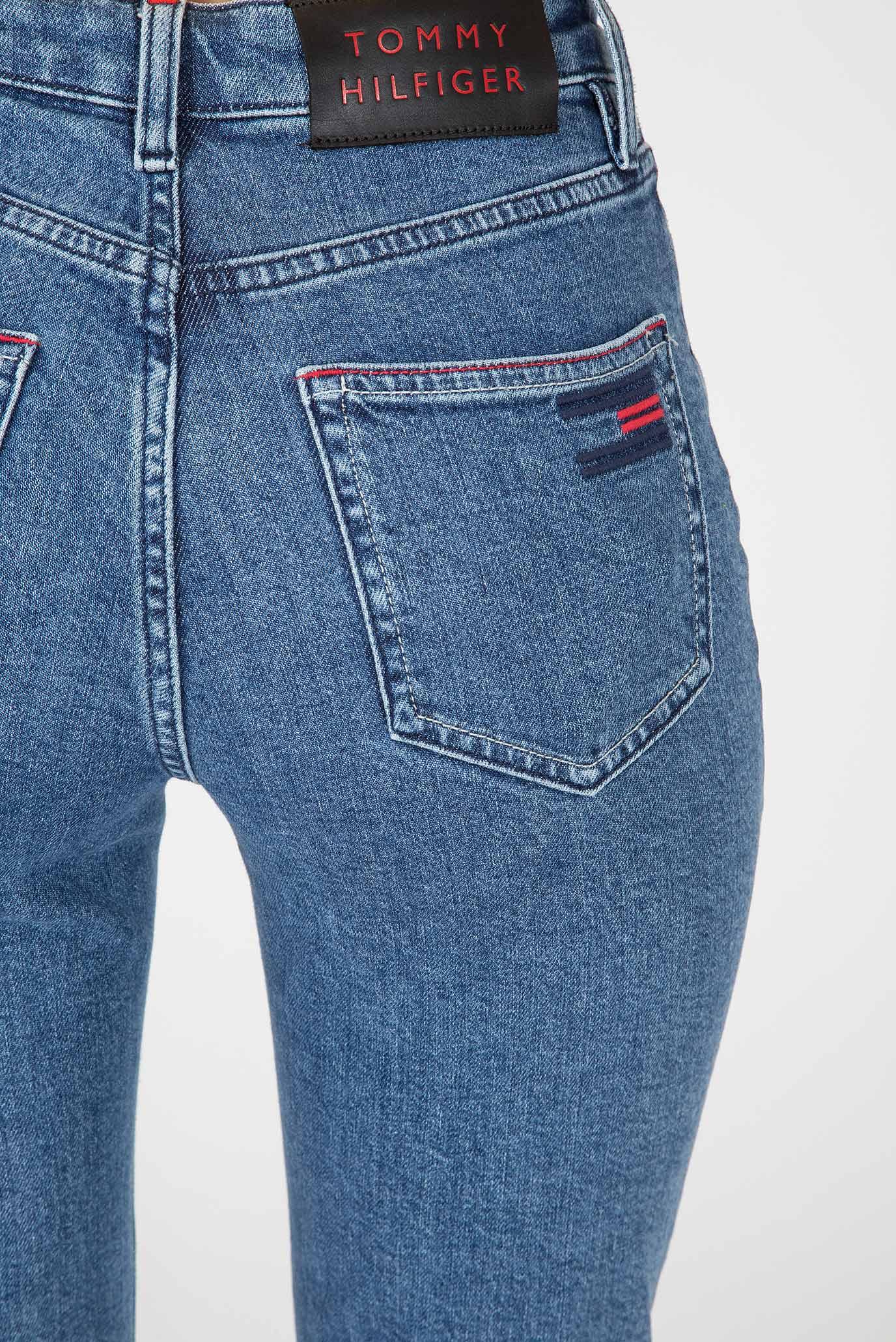 Купить Женские синие джинсы GRAMERCY TAPERED HW A ALEK Tommy Hilfiger Tommy Hilfiger WW0WW24468 – Киев, Украина. Цены в интернет магазине MD Fashion