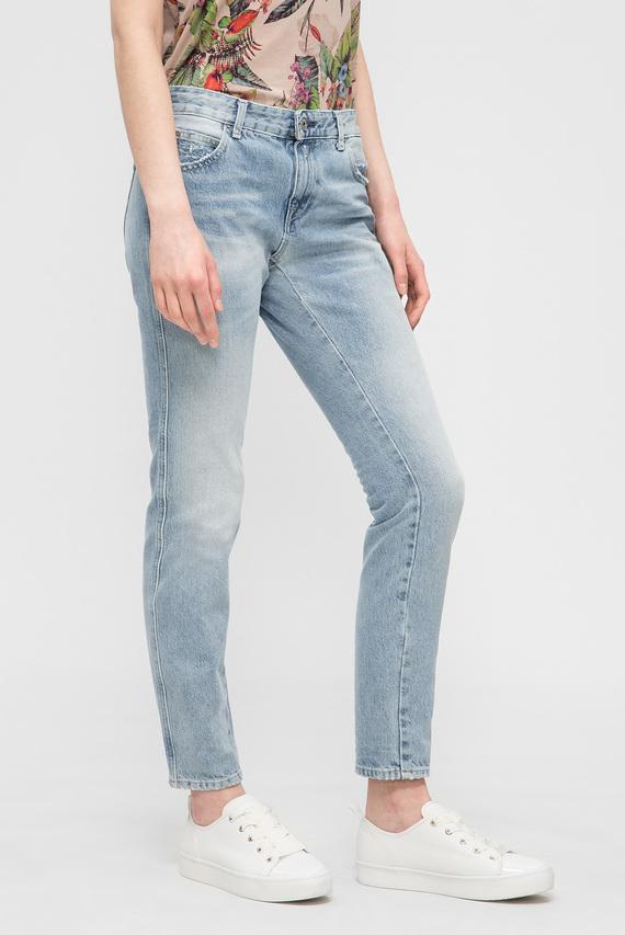 Женские голубые джинсы KATEWIN