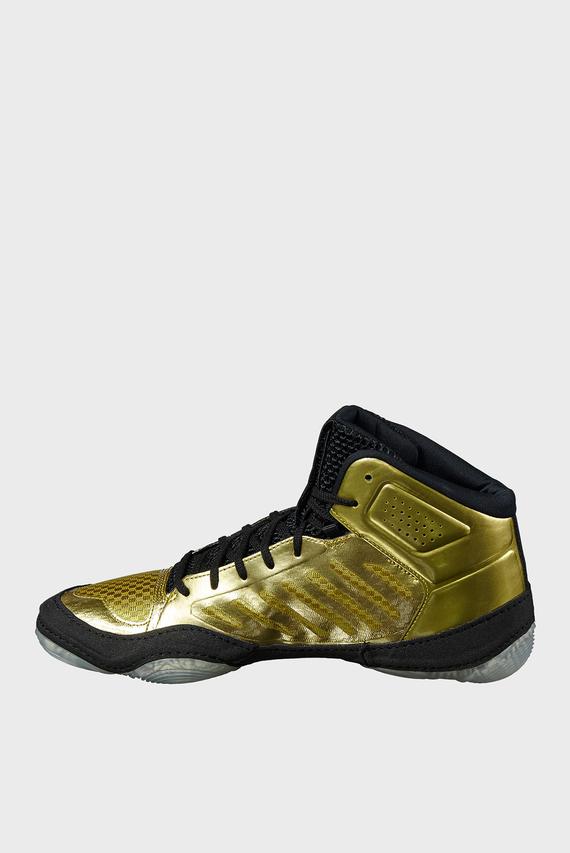 Мужские золотистые кроссовки для борьбы JB ELITE III