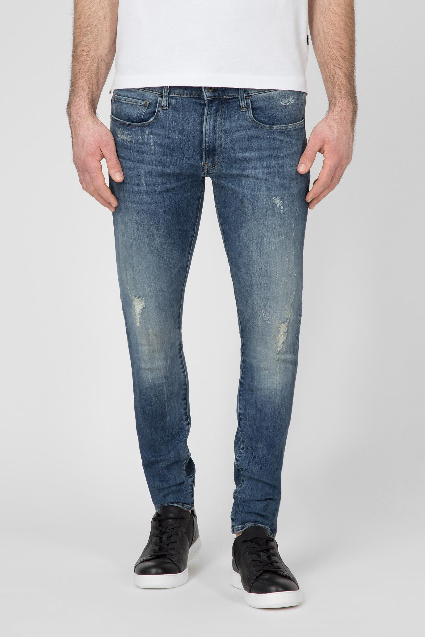 Купить Мужские синие джинсы 3301 DECONSTRUCTED G-Star RAW G-Star RAW D01159,8968 – Киев, Украина. Цены в интернет магазине MD Fashion