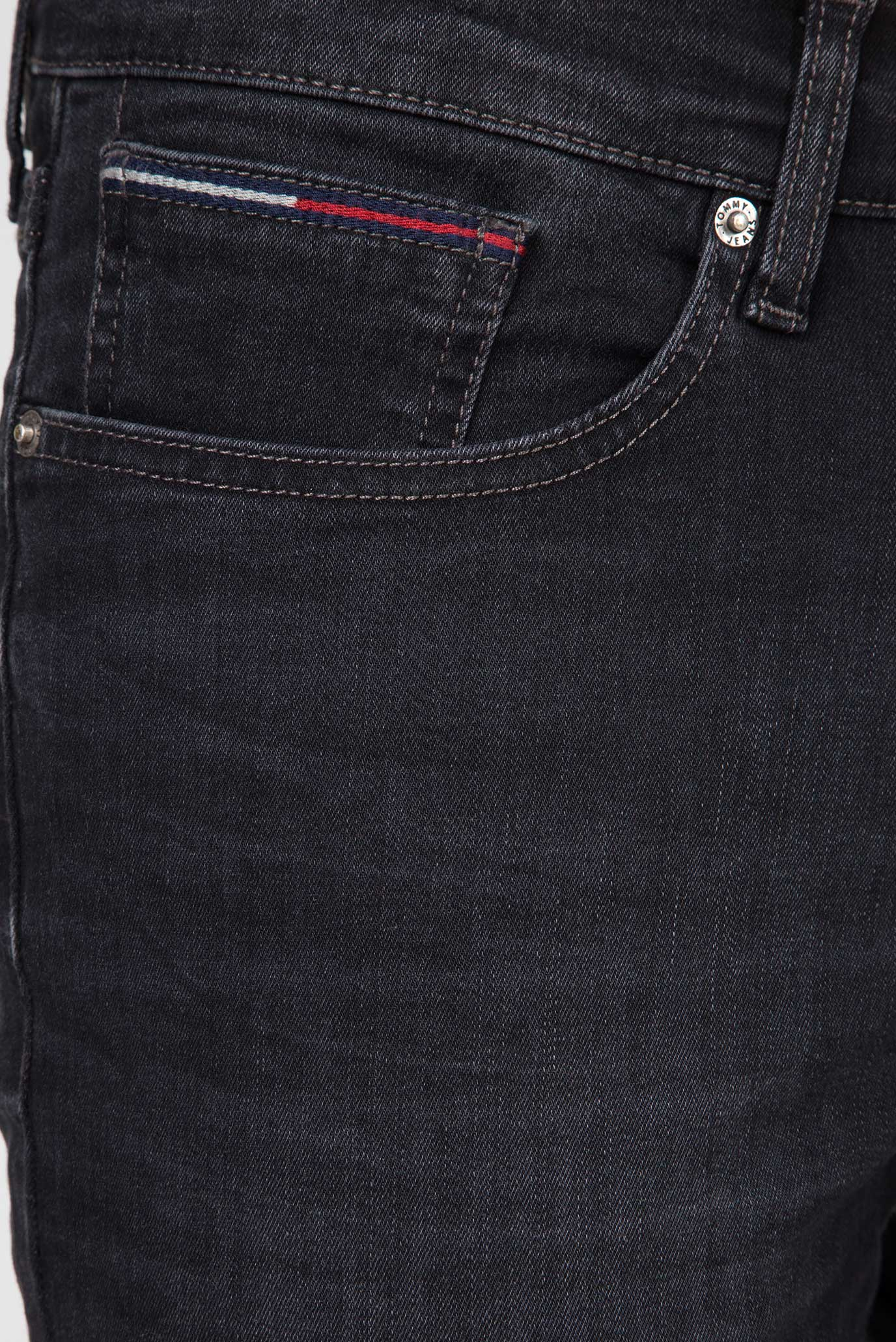Мужские черные джинсы SLIM SCANTON Tommy Hilfiger