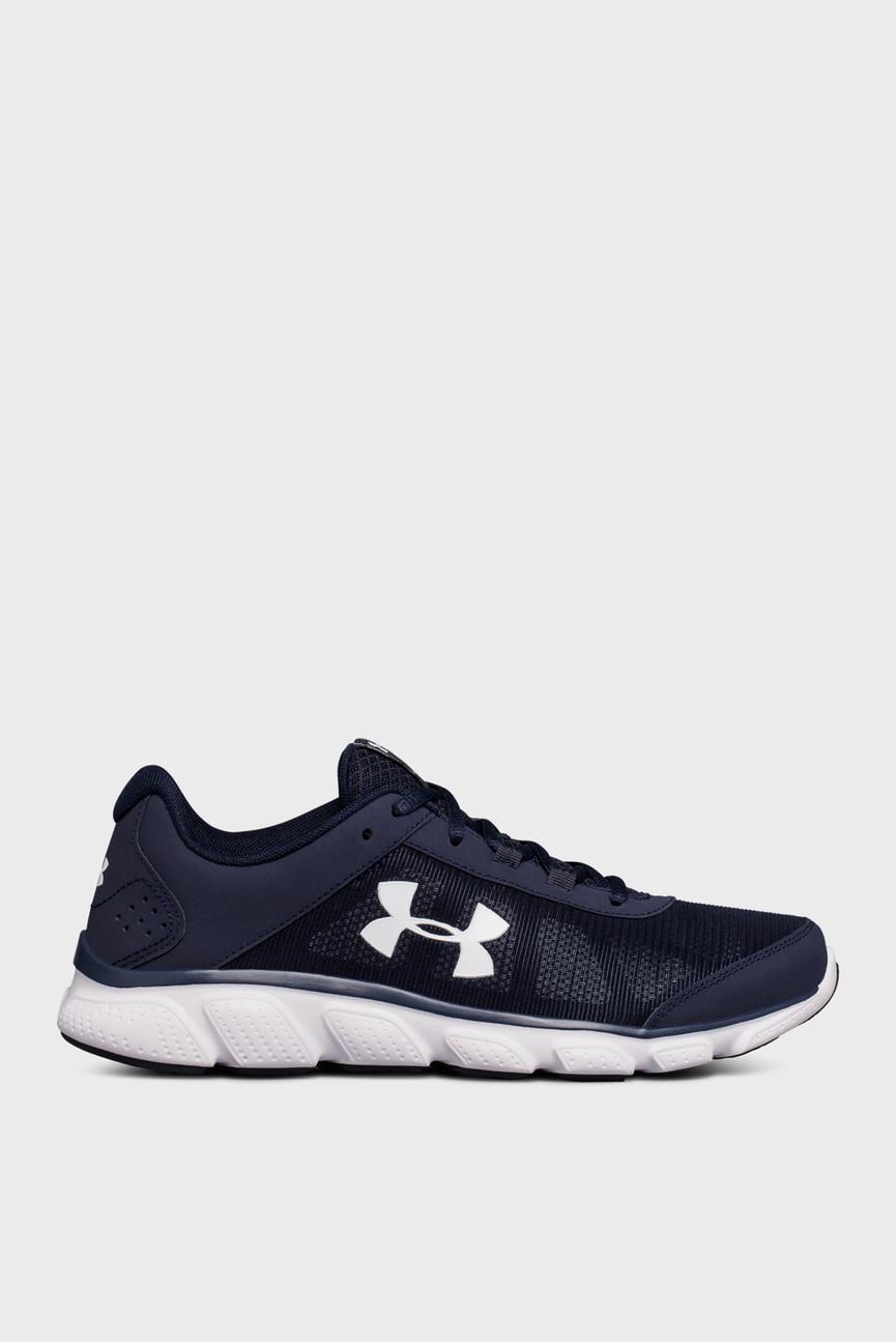 Мужские темно-синие кроссовки UA Micro G Assert 7