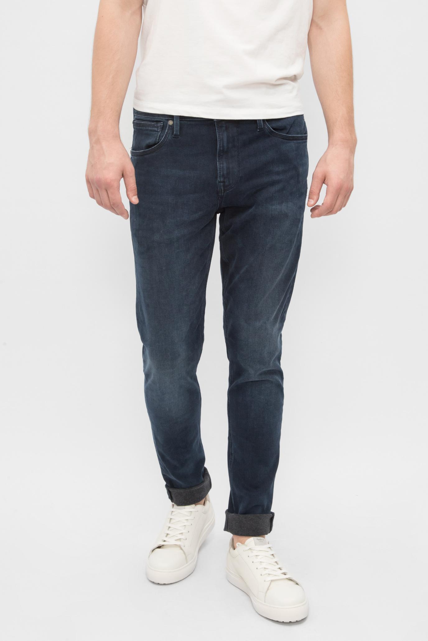 Купить Мужские темно-синие джинсы FINSBURY SK-NICKEL Pepe Jeans Pepe Jeans PM201518CA82 – Киев, Украина. Цены в интернет магазине MD Fashion